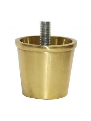 Excelsior Brass Slipper Cup with Threaded Bolt