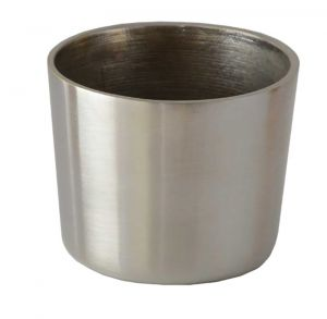 Cezanne Brushed Nickle Leg Cup