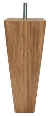 Olivia Solid Oak Square Tapered Wooden Furniture Legs