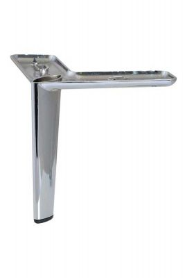 Romo Metal Furniture Legs Polished Chrome